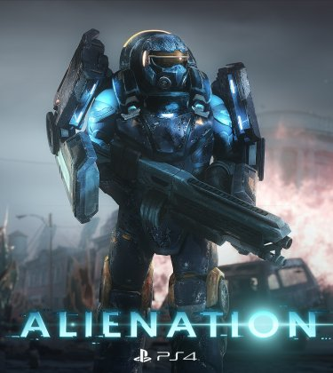 Alienation PS4 Jaquette 001