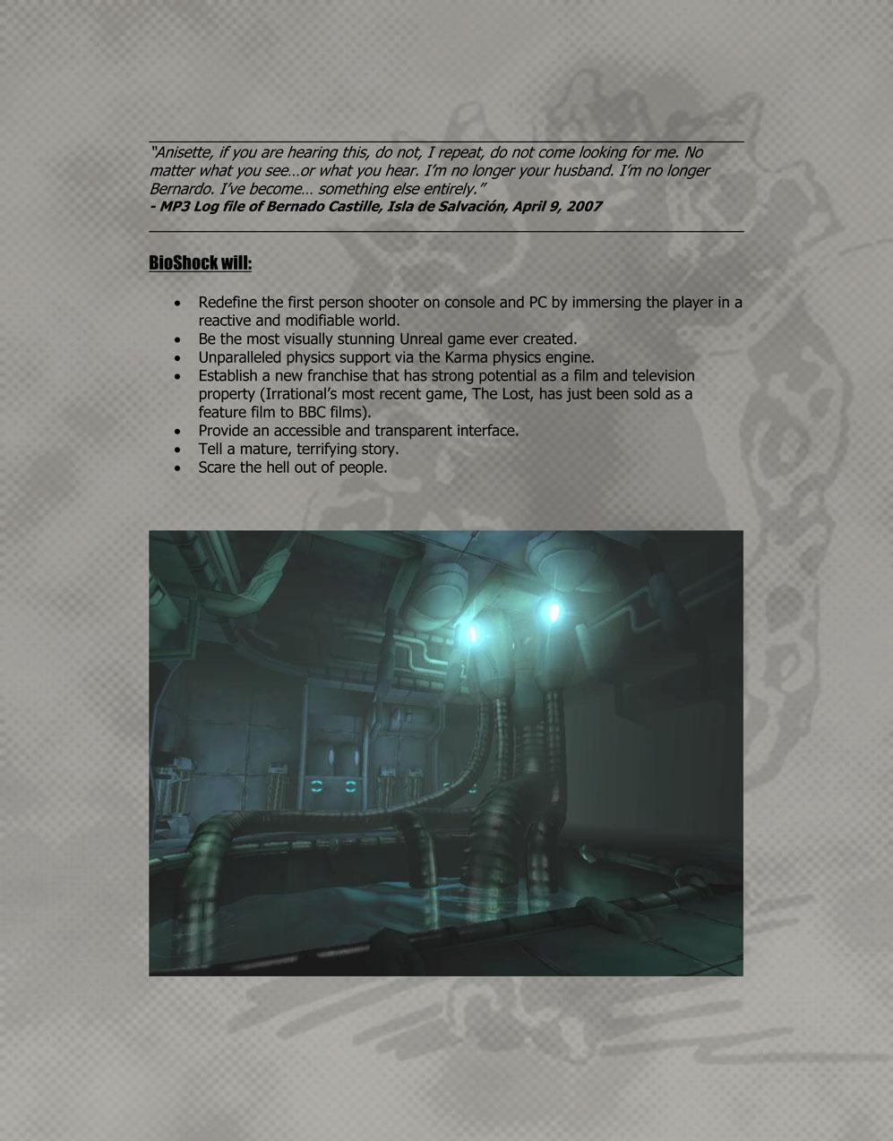 BioShock DesignDoc div005