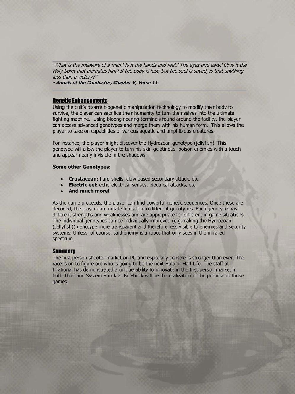 BioShock DesignDoc div009