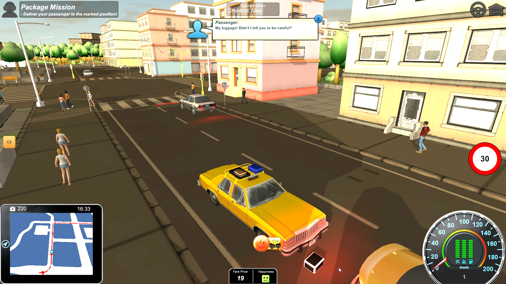 Taxi PC Editeur 002