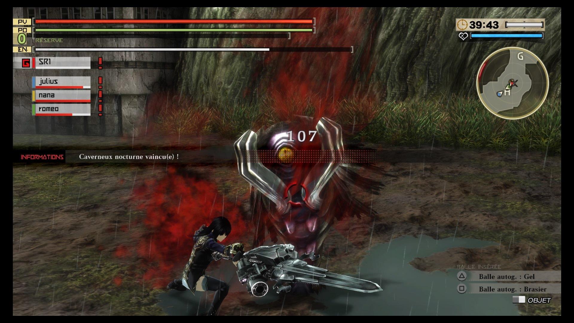 GodEater2-RageBurst PS4 Test 014