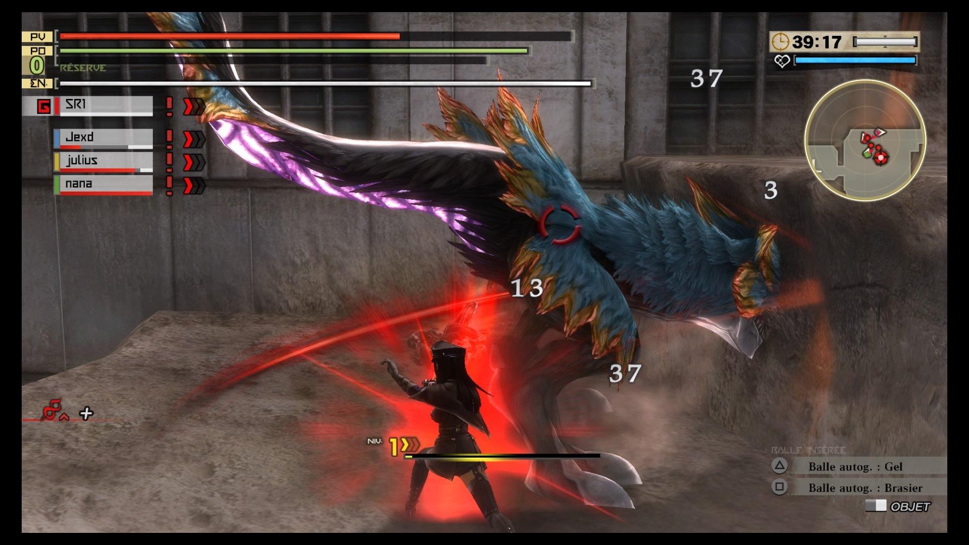GodEater2-RageBurst PS4 Test 027