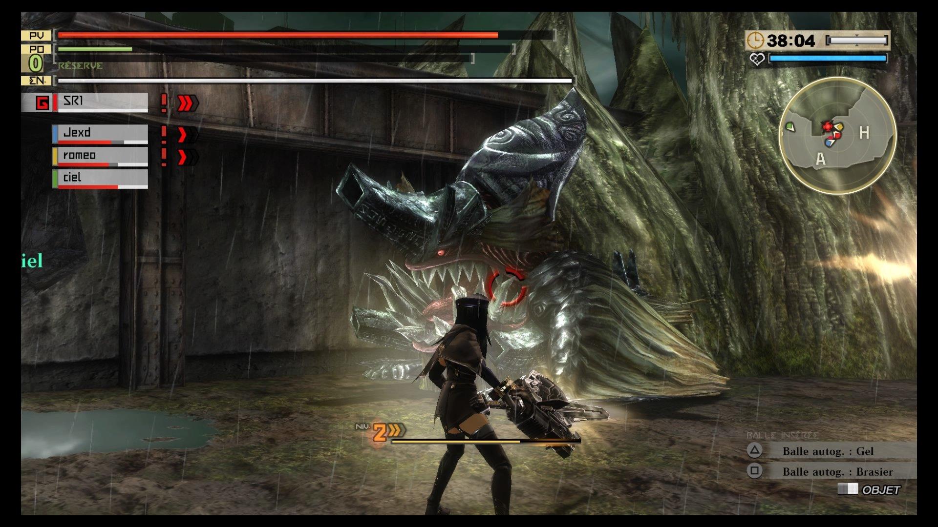 GodEater2-RageBurst PS4 Test 037