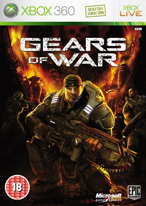 Jaquette Gears of War
