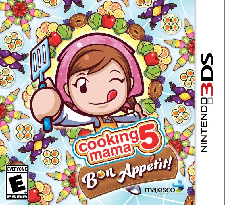 CookingMama5-BonAppetit- 3DS Jaquette 001