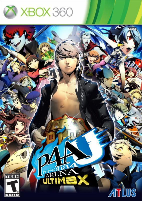 Persona4ArenaUltimax 360 Jaquette 001