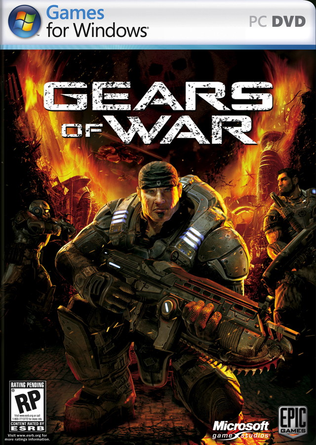 gears of war pc jaquette