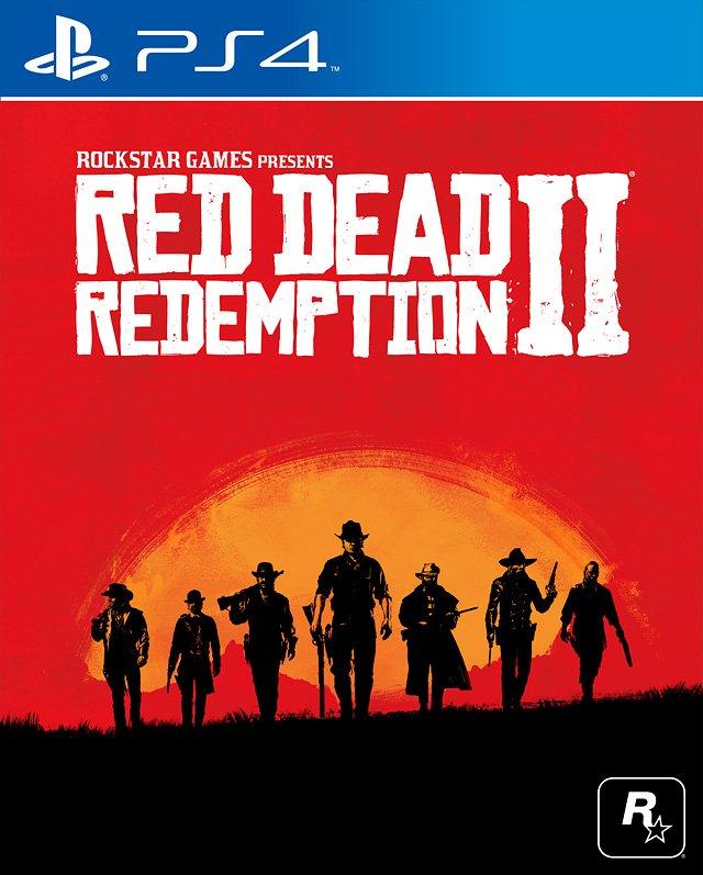 RedDeadRedemptionII PS4 Jaquette 002