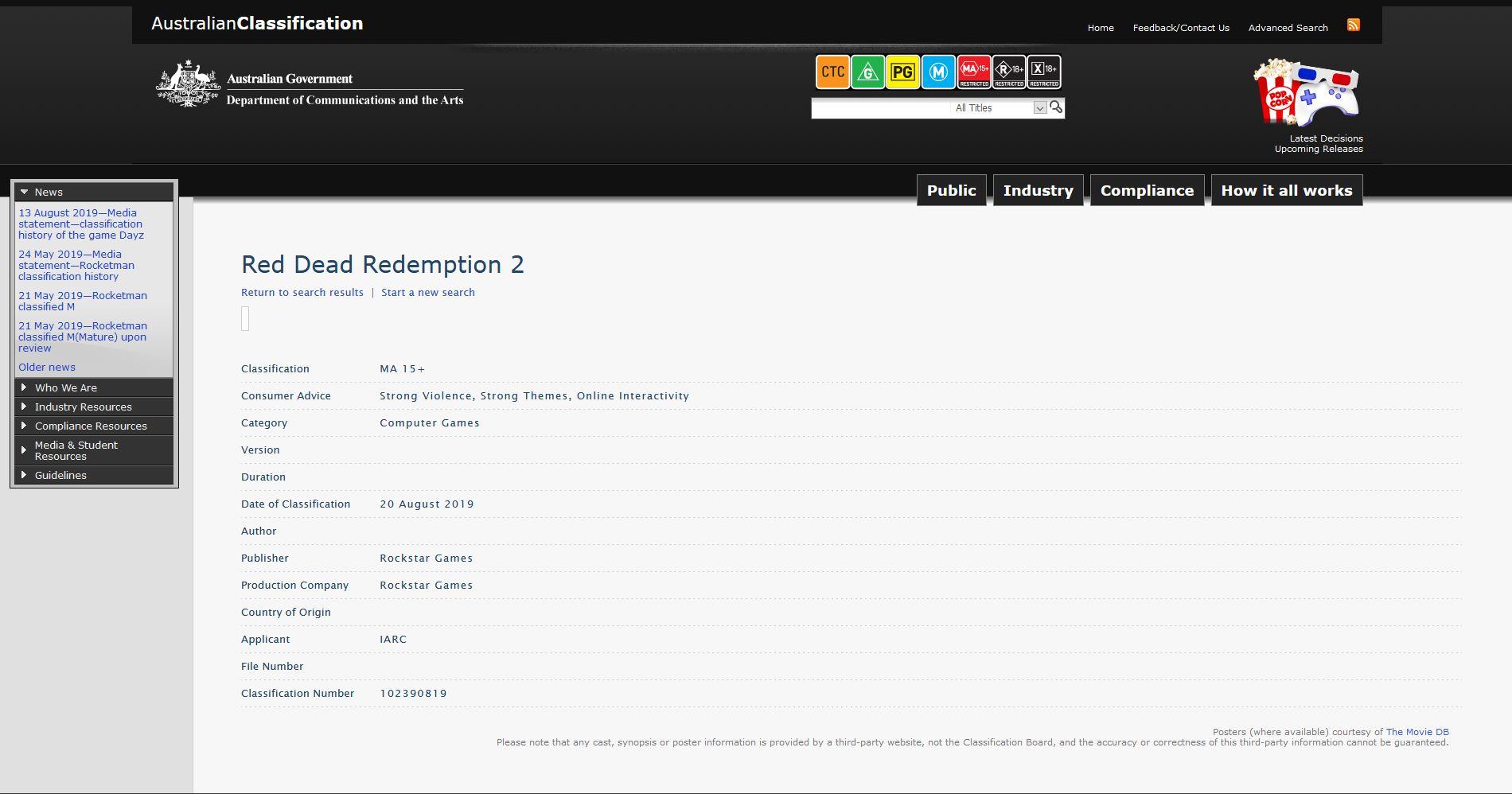 RDR2PCAustralieClass