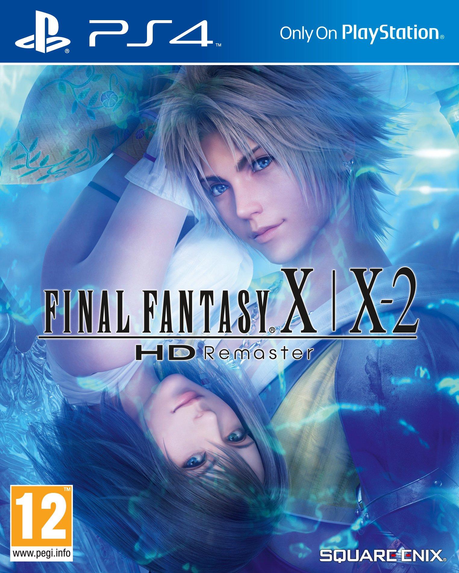 FinalFantasyX-X-2HDRemaster PS4 Jaquette 001