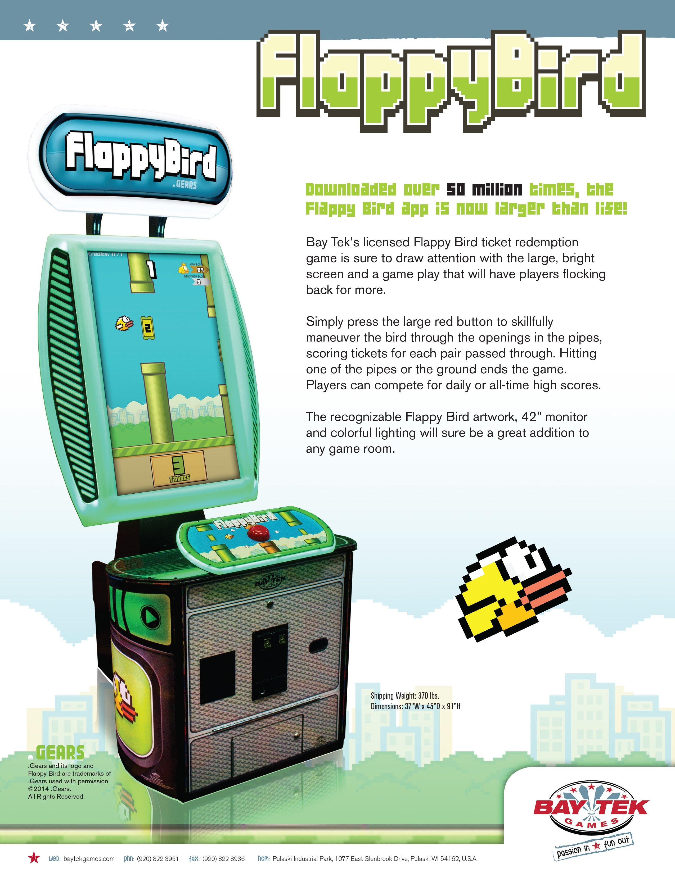 FlappyBird Arcade Editeur 001