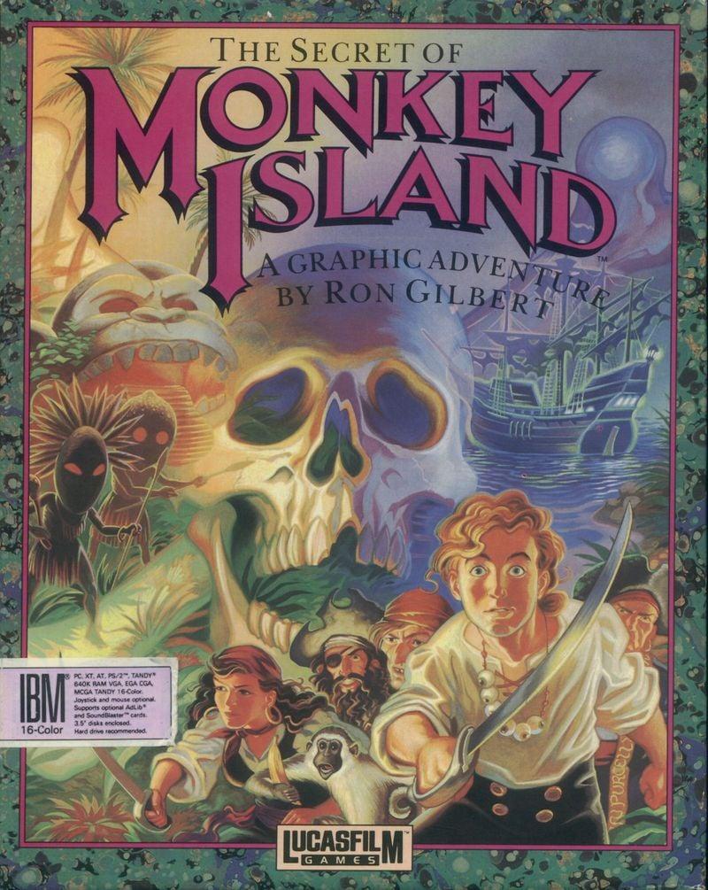 The Secret of Monkey Island PC Jaquette