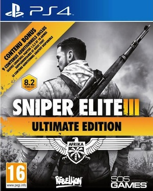 SniperEliteIII-UltimateEdition PS4 Jaquette 001