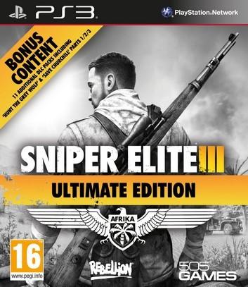 SniperEliteIII-UltimateEdition PS3 Jaquette 001