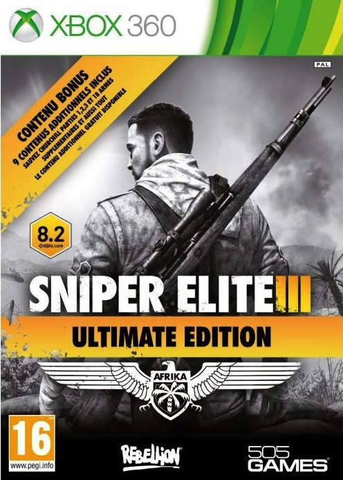 SniperEliteIII-UltimateEdition 360 Jaquette 001