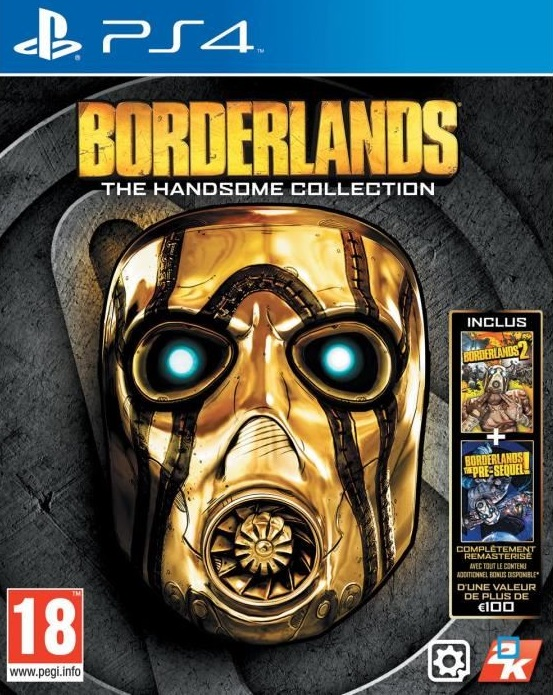 Borderlands-TheHandsomeCollection PS4 Jaquette 001