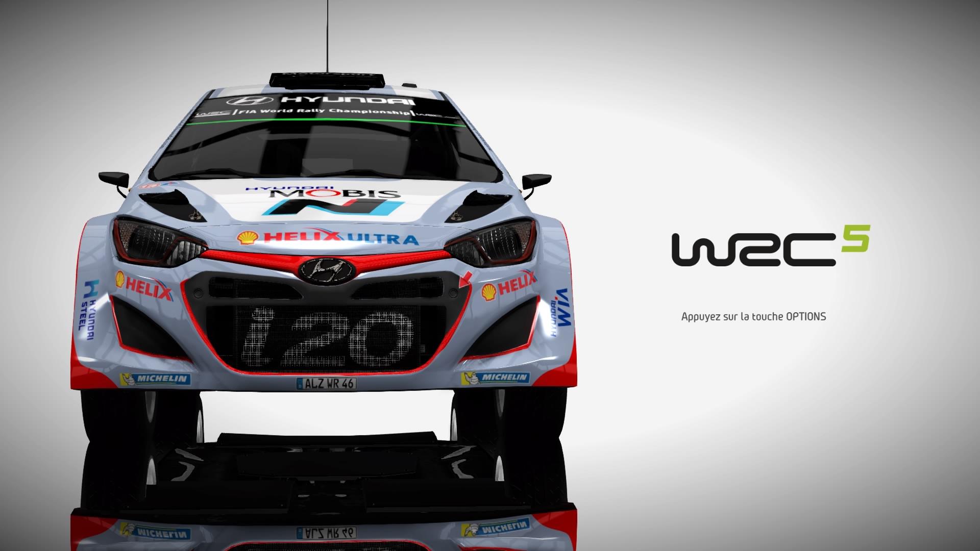 WRC5 PS4 Test 001