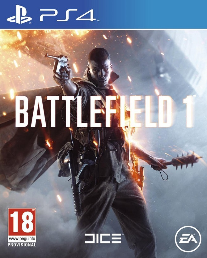 Battlefield1 PS4 Jaquette 001