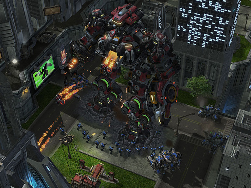 Starcraft2 terratron