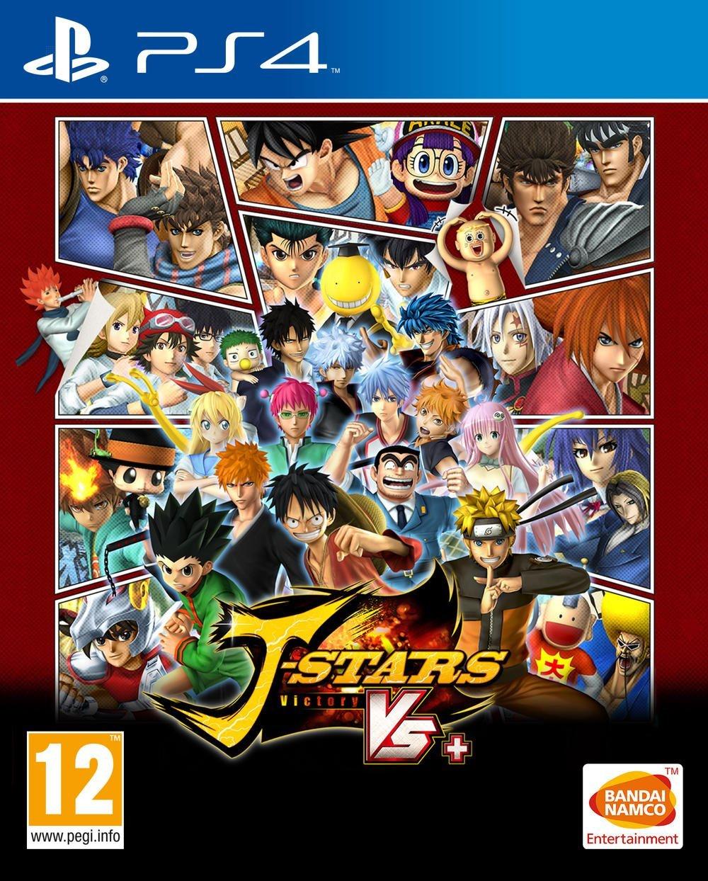 J-StarsVictoryVs PS4 Jaquette 001
