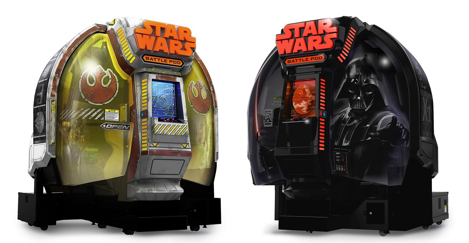 StarWars-BattlePod Arcade Visuel 001