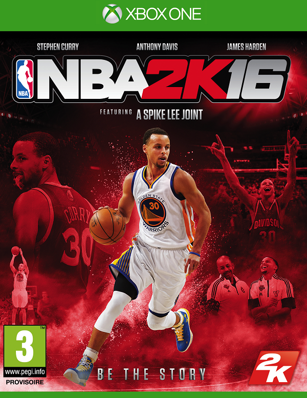 NBA2K16 Xbox One Jaquette 001