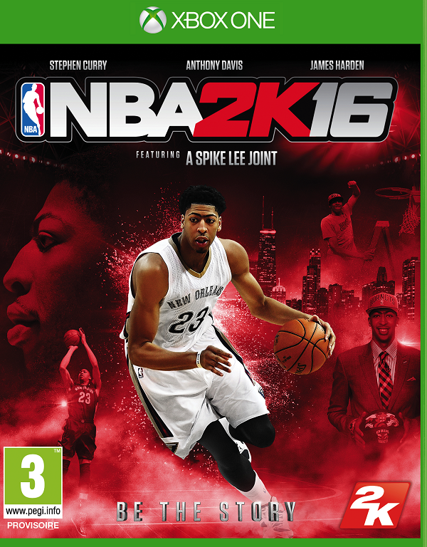 NBA2K16 Xbox One Jaquette 002