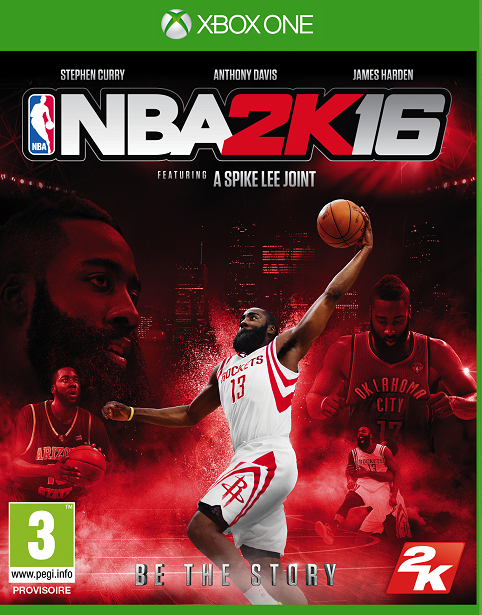 NBA2K16 Xbox One Jaquette 003