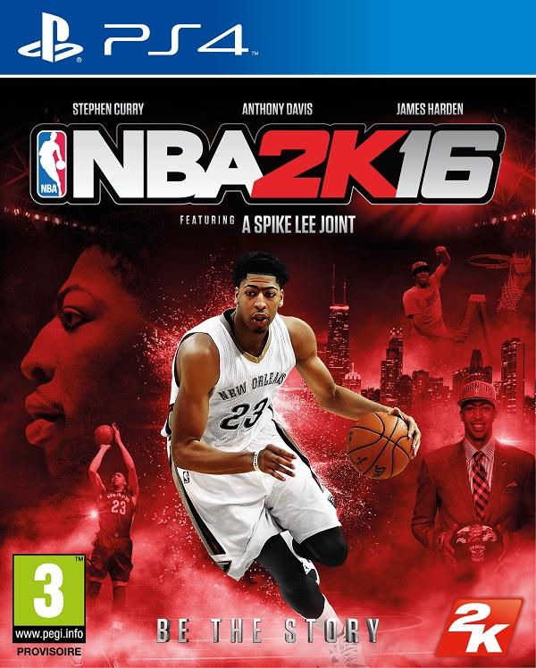 NBA2K16 PS4 Jaquette 002