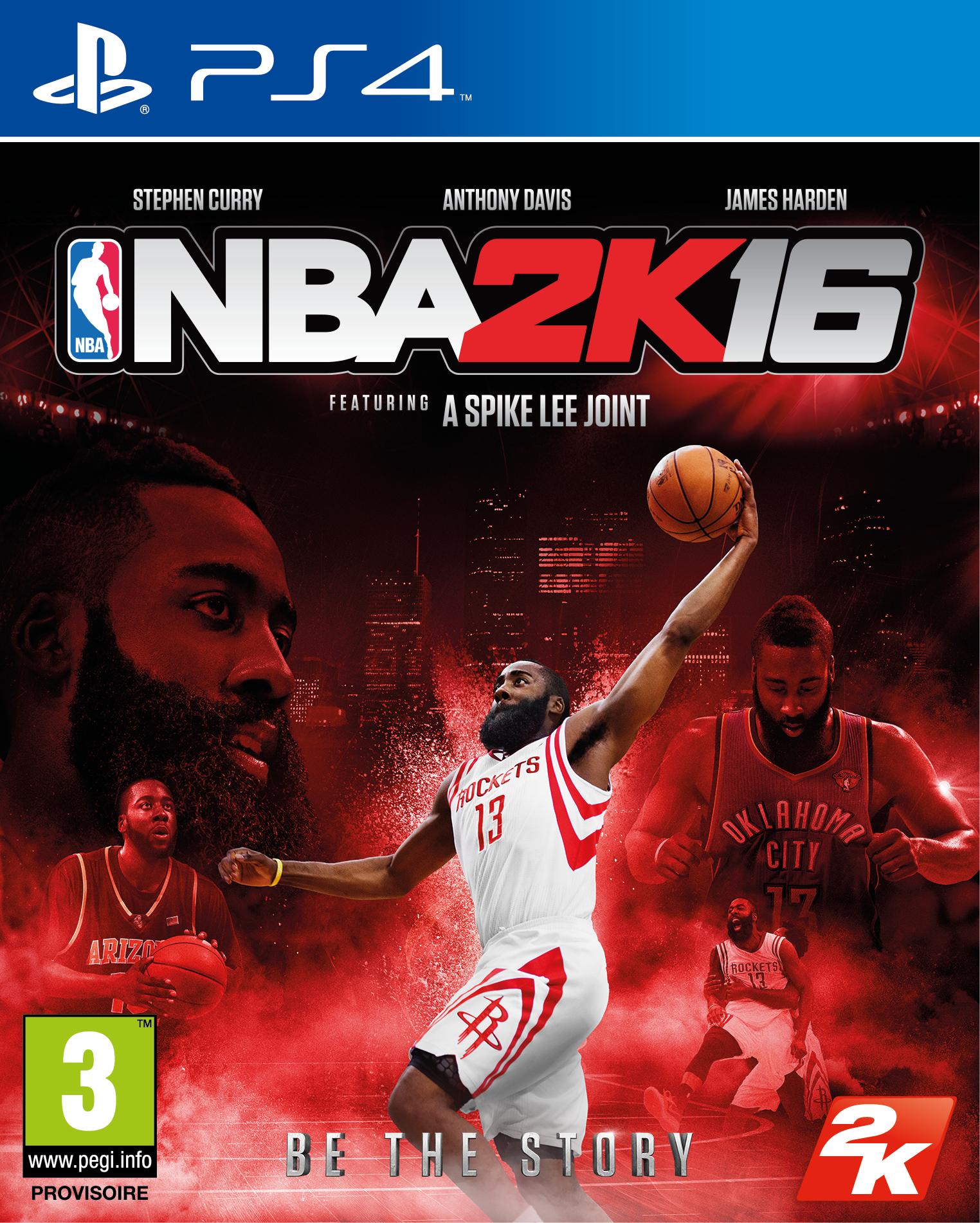 NBA2K16 PS4 Jaquette 003