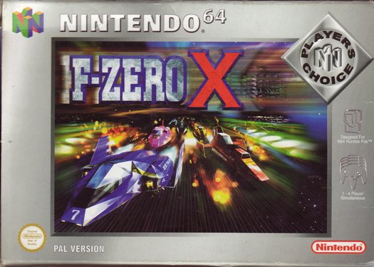 F-ZeroX N64 Jaquette 001