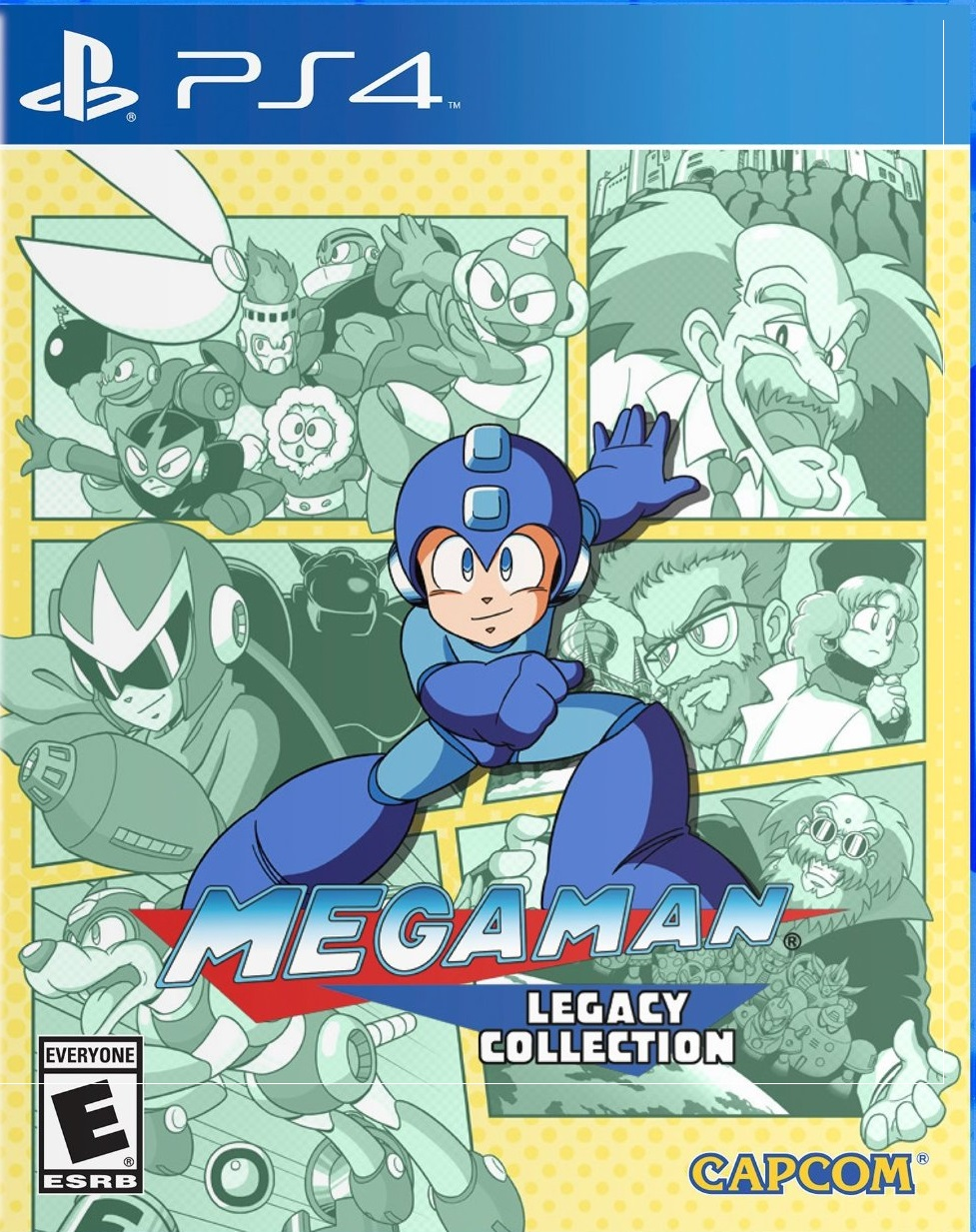 MegaManLegacyCollection PS4 Jaquette 001