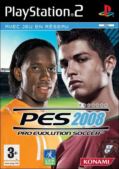 PES2008 PS2 jaquette