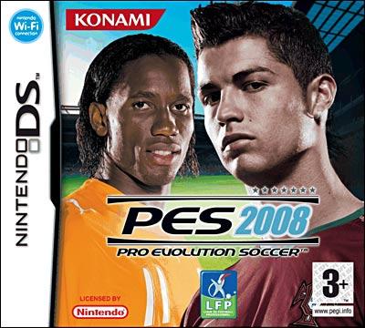 PES2008 DS jaquette