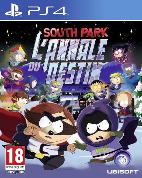SouthPark-L-AnnaleduDestin PS4 Jaquette 001