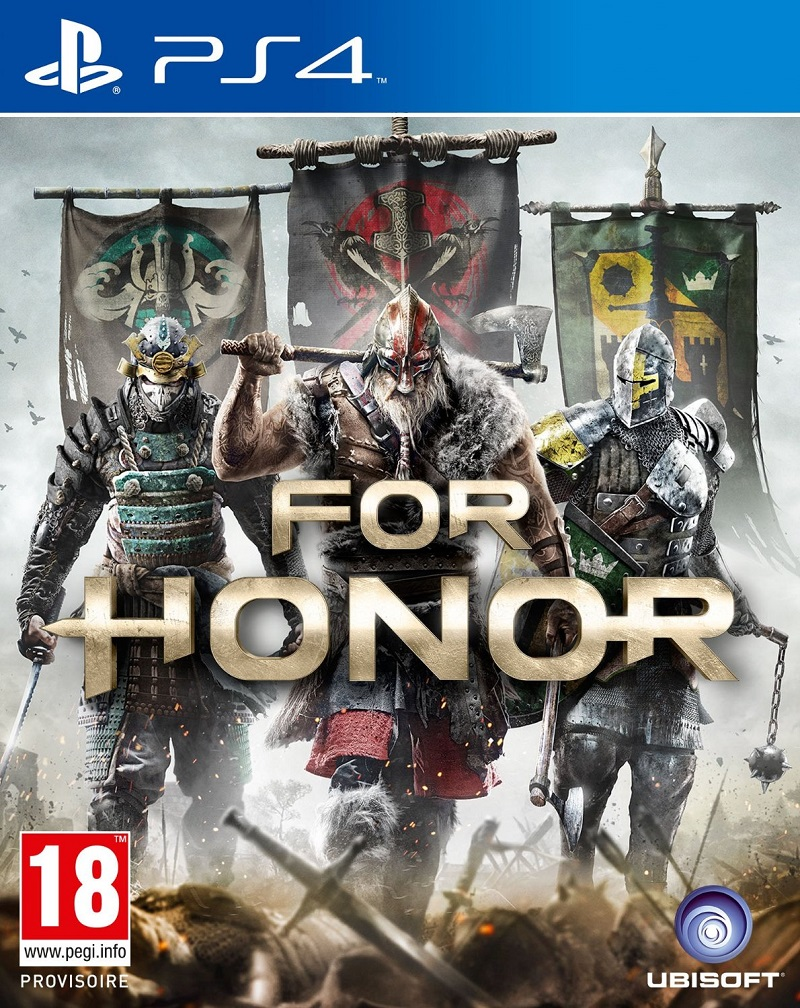 ForHonor PS4 Jaquette 001