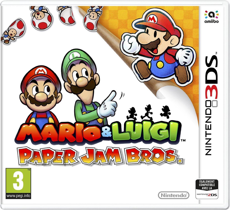 Mario-Luigi-PaperJamBros. 3DS Jaquette 001