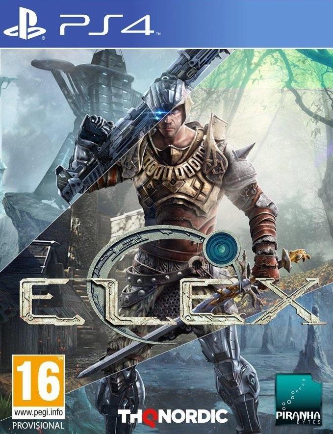 ELEX PS4 Jaquette 001