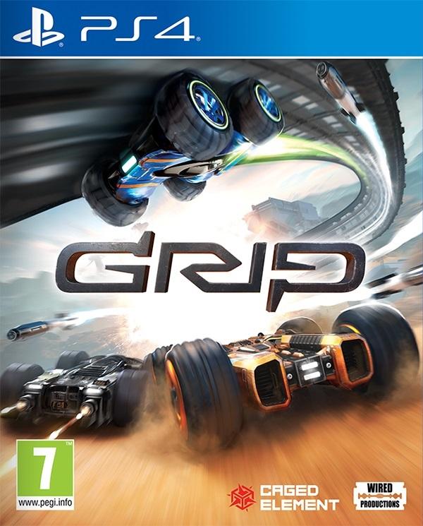 GRIP-CombatRacing PS4 Jaquette 001