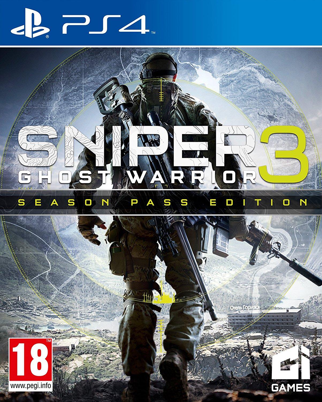 Sniper-GhostWarrior3 PS4 Jaquette 002