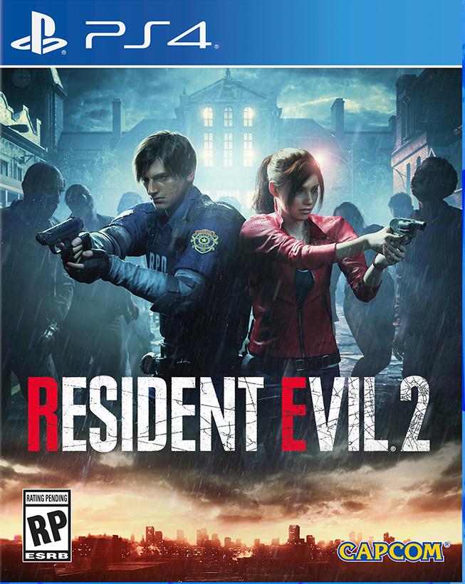 ResidentEvil2 PS4 Jaquette 002
