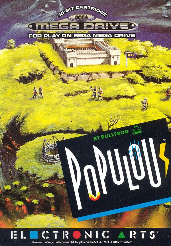 Populous MD Jaquette001
