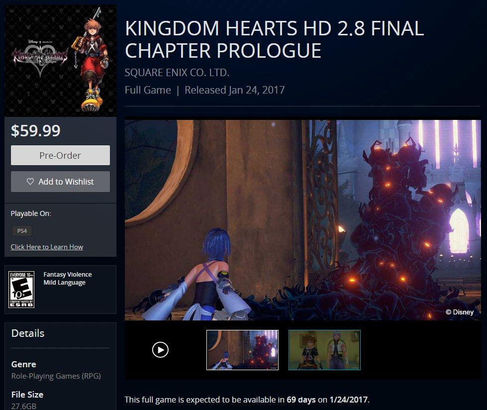 KingdomHearts2.8-FinalChapterPrologue PS4 Div 004