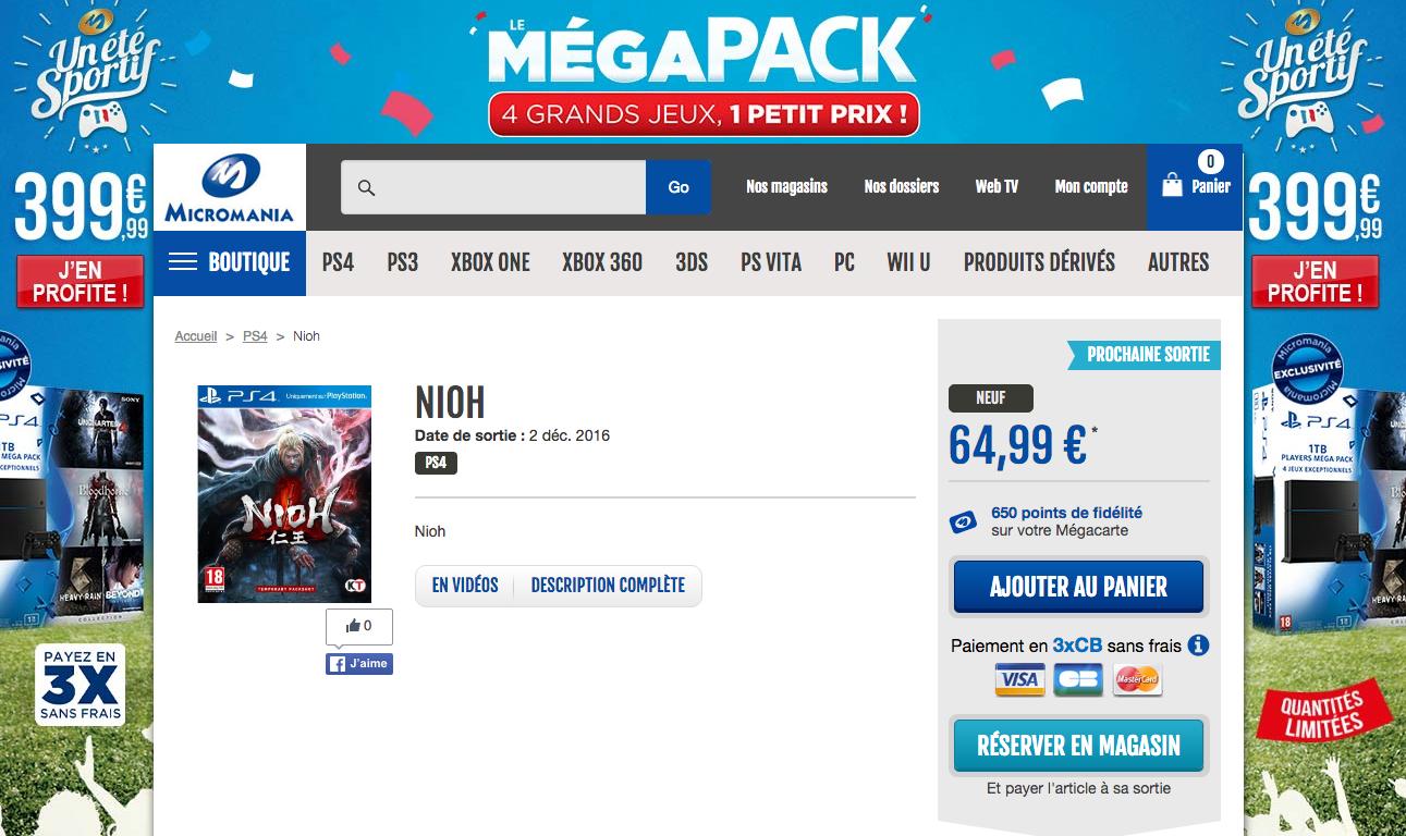 Nioh PS4 Div 051