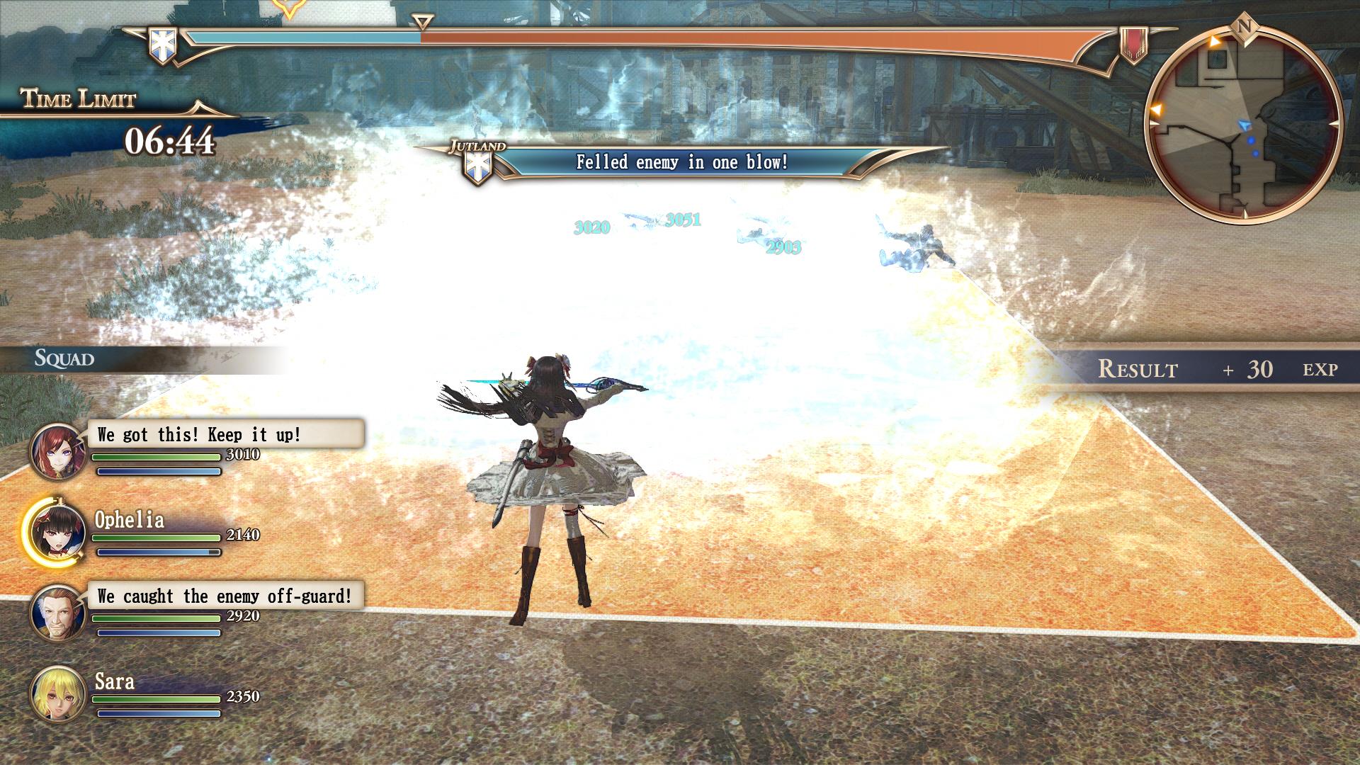 Valkyria-AzureRevolution PS4 Editeur 023