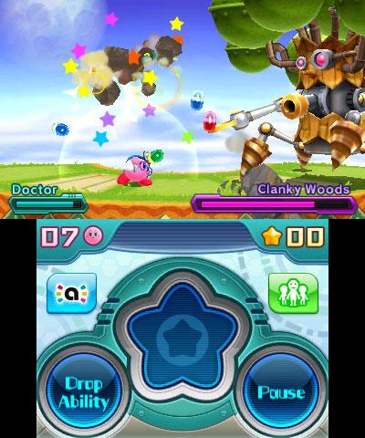 KirbyPlanetRobobot 3DS Test 001