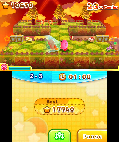 KirbyPlanetRobobot 3DS Test 004