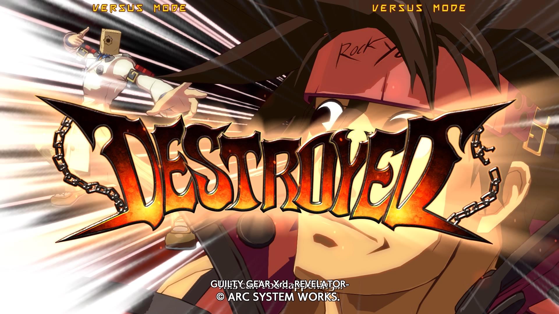 GuiltyGearXrd-Revelator PS4 Test 007