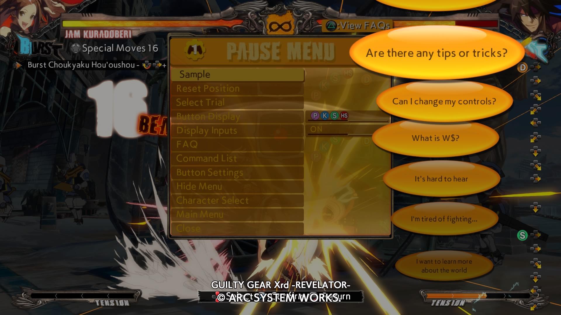 GuiltyGearXrd-Revelator PS4 Test 035