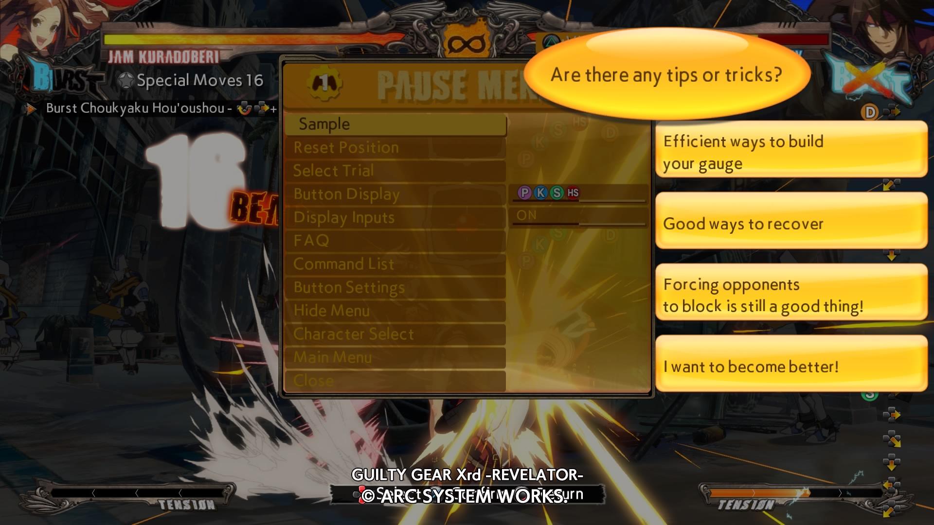 GuiltyGearXrd-Revelator PS4 Test 036